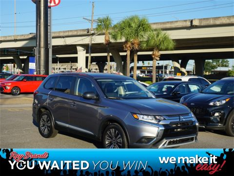 Pre-Owned 2019 Mitsubishi Outlander ES FWD 4D Sport Utility