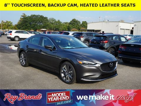 New 2019 Mazda6 Touring FWD 4D Sedan